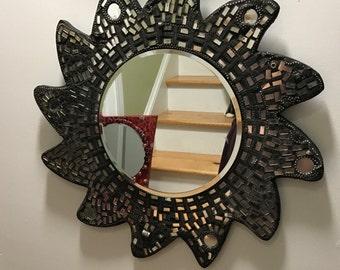 Mosaic Mirrored Mirror
