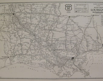 Louisiana Music Map Birthplaces Of Native Musicians Of - Road map of louisiana