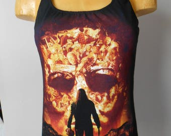 Rob Zombie halter top Reconstructed DIY Halloween