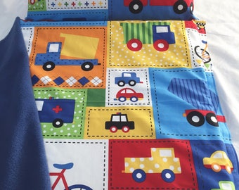 Nap Mat with Pillow and Blanket, Fire Engine Nap Mat, Boy Nap Mat, Daycare Nap Mat, Toddler Nap Mat, Preschool Nap Mat, Cars Trucks Nap Mat