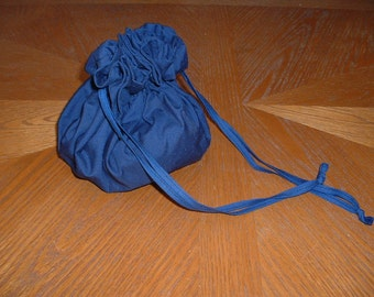 Frontier purse, clutch, bag, navy blue