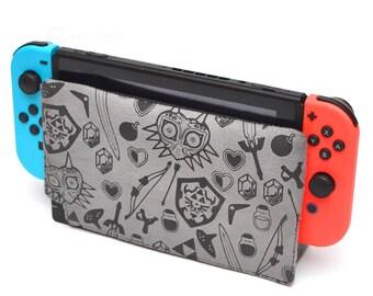 Zelda items - Nintendo Switch dock cover / dock sock