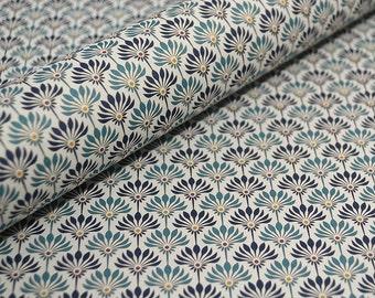Decorative Craft Paper - Blue Fans