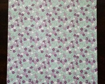 Floral Medley Open Spine Blank Journal