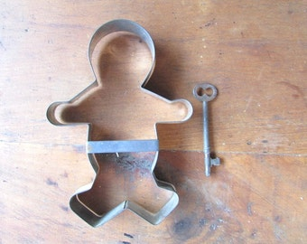 Cookie Cutter Vintage Gingerbread Boy Extra Large