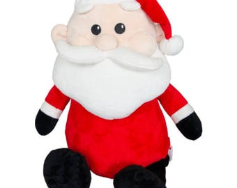Santa with personalized stomach