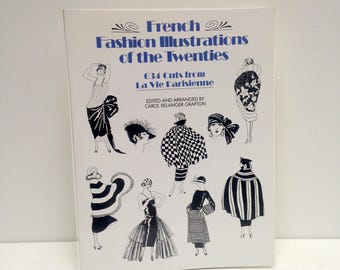 Vintage French FAshion Illustrations of the Twenties