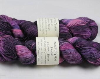Frenzy Seraphic 70/10/20 MCS fingering weight sock yarn