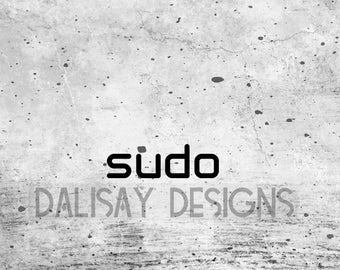 Sudo Vinyl Decal