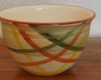 "Vintage Vernonware Tam O' Shanter Bowl Metlox California 9"""