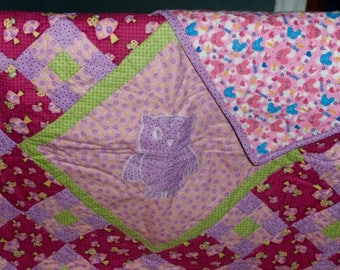 Baby Quilt/ Toddler quilt