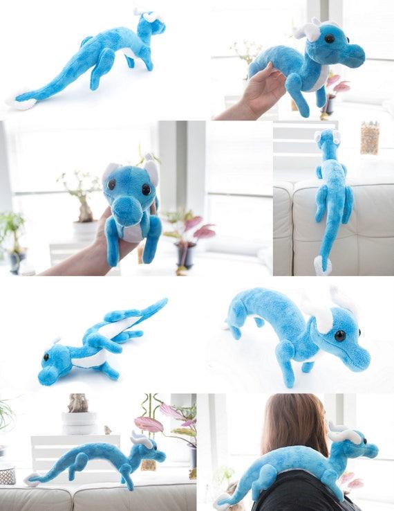 Shoulder Dragon Plush Sewing Pattern Plush Toy Pattern