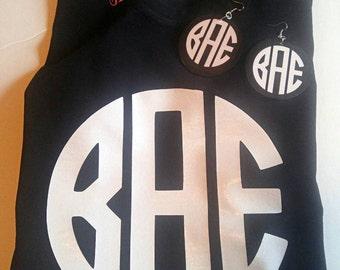 BAE Monogram Tee, Married, Single Taken, Relationship Status, Statement T-shirt