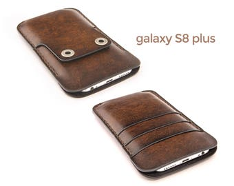 galaxy s8 plus case, galaxy s8 plus leather case, galaxy s8 plus wallet case