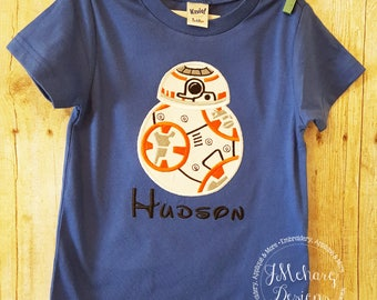 BB8 Custom embroidered Disney Inspired Vacation Shirts for the Family! 68a no ears