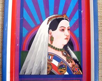 Queen Victoria  Polypops Ltd., English Tray, 70's