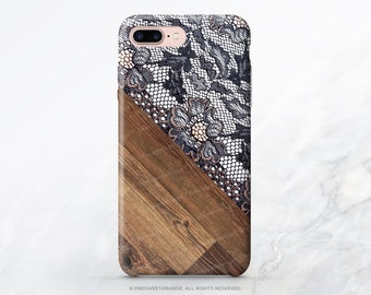 iPhone Case Wood Lace Print  iPhone 7 Case iPhone 7 Plus Case iPhone SE Case iPhone 7 Case Samsung S6 TPU Case Galaxy S6 iPhone 6 Case I63