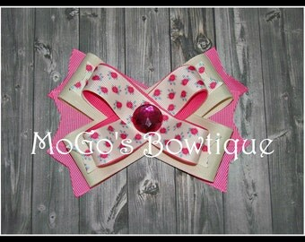 Rose Ribbon Bow