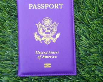 Purple Heart Passport Cover!