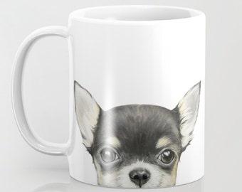 Chihuahua mix color MUG 11 OZ