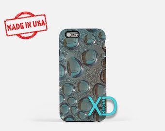 Water iPhone Case, Liquid iPhone Case, Water iPhone 8 Case, iPhone 6s Case, iPhone 7 Case, Phone Case, iPhone X Case, SE Case New