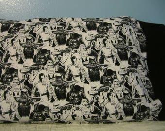 Black & White/Star Wars/Black Cuff/pillowcase