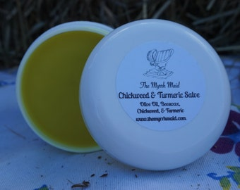 2oz Chickweed & Turmeric Salve