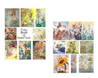 Fairy Magic Digital Collage Set