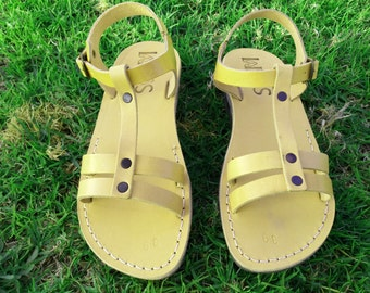 Leather Sandals, Leather Sandals Women, Sandals, Women's Shoes, MAYA, Flip Flops, Biblical Sandals, Jesus Sandals