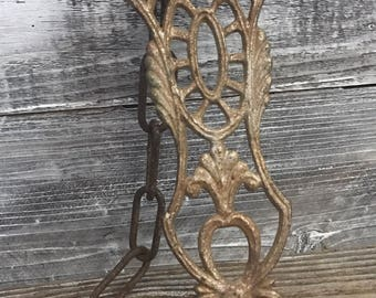 Antique Old Metal Lamp Chandelier Part with Chain