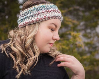 Crochet // Headband // Ear warmer // Winter // Cozy // Warm//