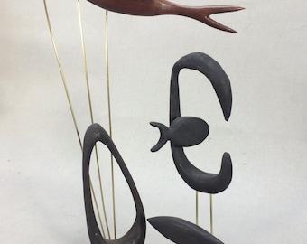 Mid Century Modern Style Fish Sculpture Danish Modern