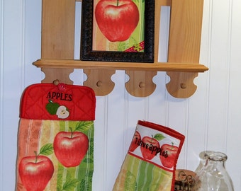 Apple kitchen decor | Etsy