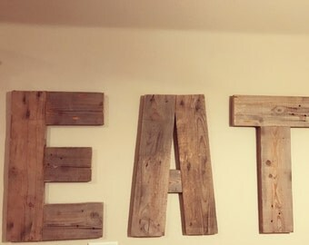 Farmhouse EAT letters