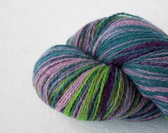 Gradient Aade Long artistic wool, Yarn for knitting, crochet.  Africa  gradient yarn