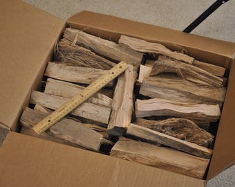 Hickory smoking wood, 21.4 pounds