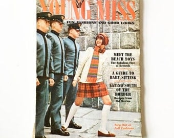 Vintage Young Miss YM Magazine September 1967