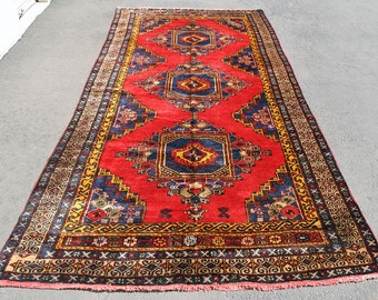 Large Anatolian Runner -- 12 ft. 7 in. by 5 ft. 3 in.