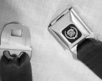 Black Cadillac Buckle-Up Belt