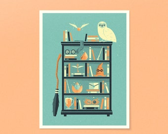 Harry Potter Shelf | Rowling | 18x24