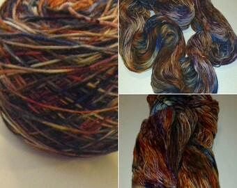 Hand Dyed SW Merino/Nylon Fingering Weight - 'Spice Islands'