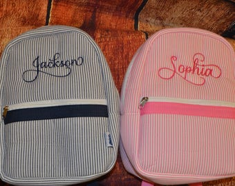 Kids Personalized Backpack - Boy and Girl