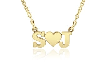 POSH Initial Love Necklace