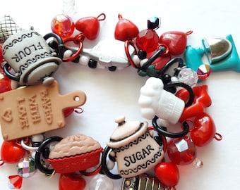 Cooking bracelet/Beadiebracelet