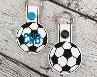 Soccer Keychain - Bag Tag