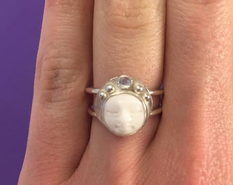 Moon Queen ring