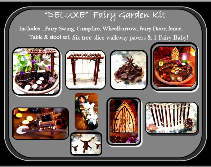 wife gift -  daughter gift - fairy garden kit,fairy garden,fairies, fantasy, garden kit,  childrens gifts,most popular