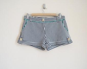 Vintage Striped Short