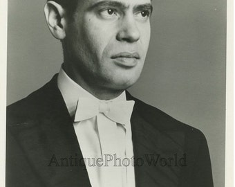 Russian Jewish violin player Leonid Kogan vintage photo