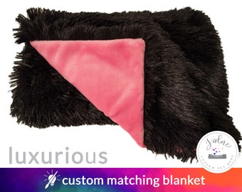 Luxuriously Soft Pet Blanket - Dog Blanket or Cat Blanket - Your Pet will love it!